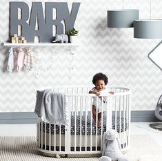 Oilo crib bedding fo