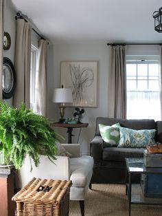 Urban Cottage living room