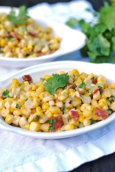 summer sides, ranchero corn, bell peppers, aka food, yummi thing, southern live, sweet corn, ranch dressing