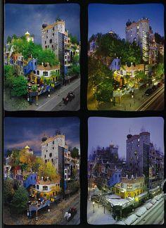 #Hundertwasser en Viena