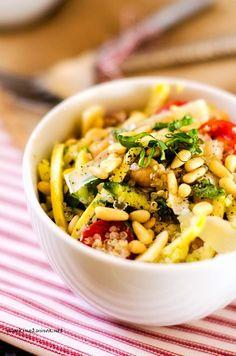 Summer Veggie Quinoa Bowl - Cooking Quinoa