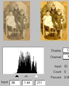 Genealogy Photo Scanning & Repair Tips