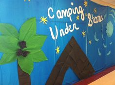 What a good looking Camp High Five display at Kimball Wells Elementary in Gainesville, FL!
