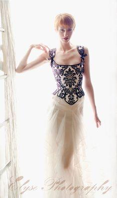 Corset based on 1700's corset style