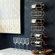 Deco Wine Bottle Rack #westelm
