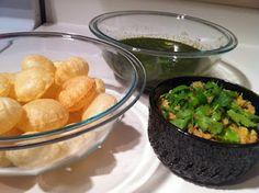 Puchka, Kolkata style - Flat Footed Foodies