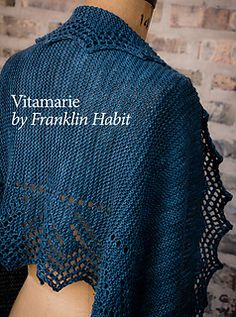 Vitamarie Shawl by Franklin Habit. Pattern available through his Ravelry store.