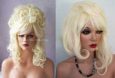 The Radical Transformation of a drag wig as done by the infamous Ron Edelstein