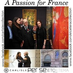 A Passion for France: The Marlene and Spencer Hays Collection PARIS — On Monday, April 15th, Spencer Hays received the distinctive Officer badge of the Legion of Honour by the French minister of Culture, Aurélie Filippetti.