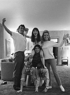 Dean Martin And Family