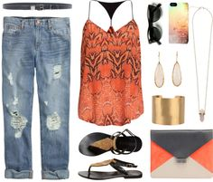 """""""Hot Child in the City"""" by quesarasara on Polyvore"""