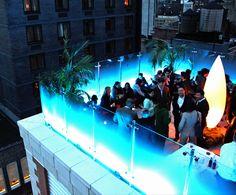 New York City Rooftop Bar: Glass at the Indigo Hotel