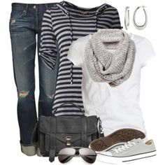 """Hoodie and Tennies"" by wishlist123 on Polyvore"
