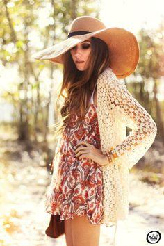 I Feel Daisy Crochet Cardigan