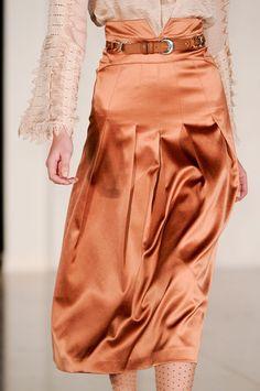 Temperley London bronze, temperley london, high waist, seasons, satin, colors, high fashion, fashion uk, designer clothing