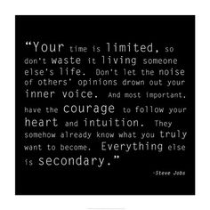 Time Quote art print