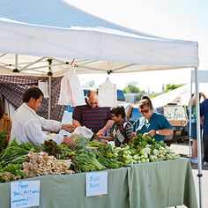 FARMERS MARKETS~Bellingham, Boise, Santa Fe, Stockton, Honolulu.