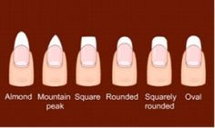How to get the perfect nail shape