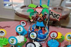 Great Pirate Party ideas on this blog site