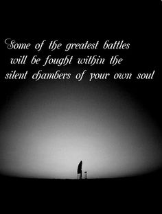 battles in your soul