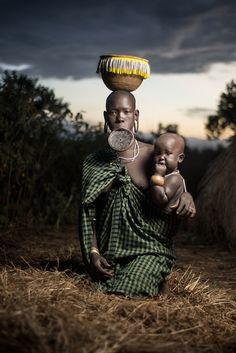 Mursi Tribe - Africa <3