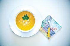 ginger pumpkin, pumpkin soup