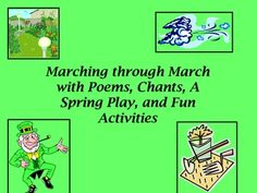 Marching Through March with Poems, A Play and Fun Activities K-3