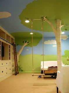 cool kids bedroom...want this so much