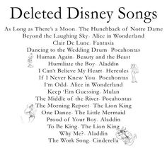 Disney Quotes From Songs