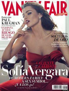 Sofia Vergara on the cover of Vanity Fair Spain!