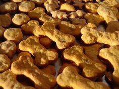 bacon and cheese dog treats ...  Hmmm  might be good take home treats!