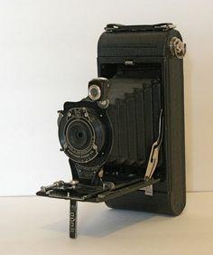 Antique No 1A Pocket Kodak Camera with Case by CanemahStudios, $38.00