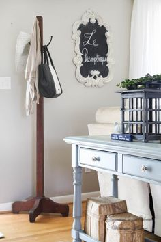 Add a coat rack in a