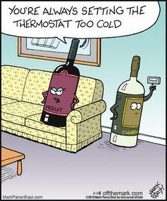 Wine lover humor.