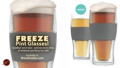 Freeze Pint plus a boat load of other cool beer gear we can customize!