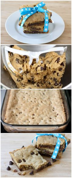chocolate chips, desserts easy chocolate, cooki bar, easy chocolate chip cookies, chocol chip, bar recipes, chocolate chip cookie bars, chocolate dessert recipes easy, easy cookie recipe