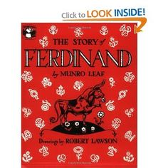 Love Ferdinand...and just named a bull calf after him.