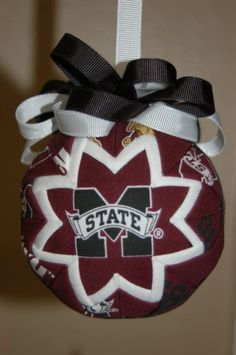 Mississippi State Ornament