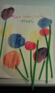 cute Truffula tree project for Dr. Suess week!!:)