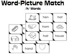 Students love Phonics Picture Match Games to help them learn beginning consonant sounds.  Download a matching game for each letter of the alphabet.  (Well, almost every letter.)