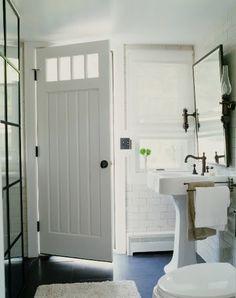 Love the Bathroom Door!!....
