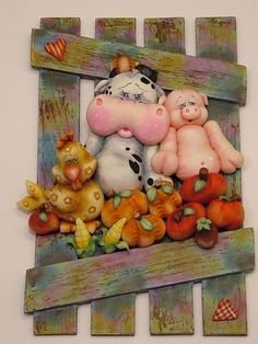 modelado, clays, animals, fimo, pigs, friendship, polym clay, polymer clay, biscuit