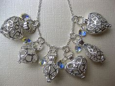 WholesaleBRIDE on a BUDGET Seaglass  lockets  by SAMISEAGLASS, $62.00