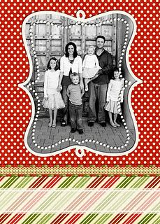 A blog with free Christmas Card Templates