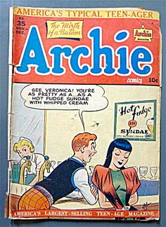 Archie Comics #35 November 1948 America's Teen-Ager