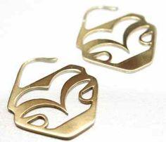 Golden Glide Earrings