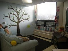 A great idea from a counselor. She painted a tree on the wall and had the students put their handprints on the tree as a culminating activity for small group or individual work. Her plans are to add to the tree over the years. They will be adding flowers (friendship), clouds (worry), and even raindrops (grief groups) as her students complete this work of art.