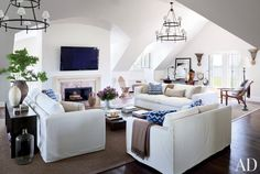 hampton style, living rooms, famili room, jazz age, lounge rooms, family rooms, hous, media room, live room