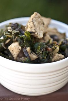 Clean Eating Chicken & Chard