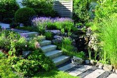Gartengestaltung - die wichtigen Elemente     Was sollte eigentlich unbedingt dazugehören, wenn man heute seinen Traumgarten plant ?